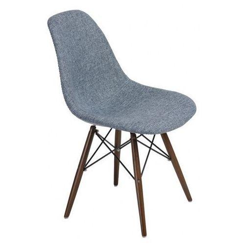 Krzesło p016w duo inspirowane dsw dark - niebieski   szary marki D2.design