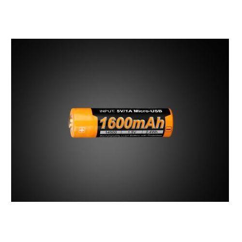 Akumulator arb-l14u (14500 1600 mah 1,5v usb) marki Fenix