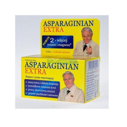 Tabletki Asparginian Magnezu Potasu Extra 50 tabl.