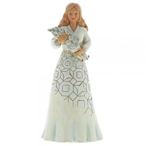 Z życzeniami szczęścia wishing you a happy day 6001559 figurka róże marki Jim shore
