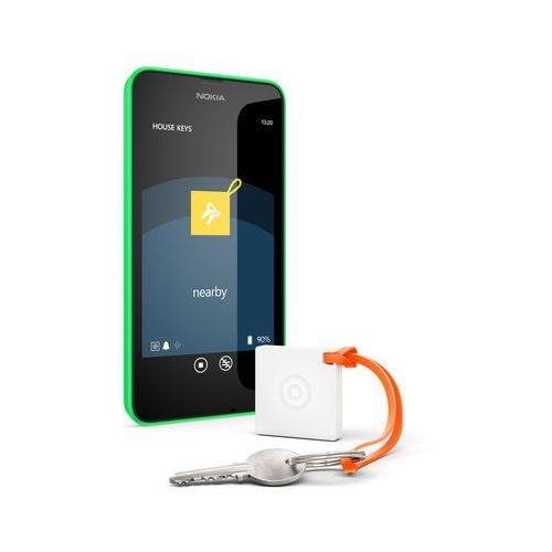 Lokalizator ws-10 treasure tag mini 02742h3 (biały) marki Nokia