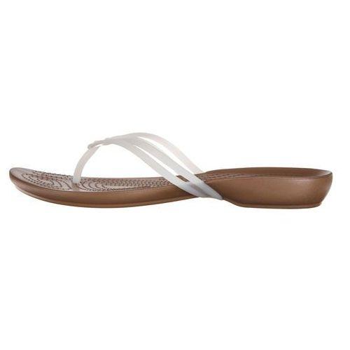 isabella japonki biały brązowy 36-37, Crocs