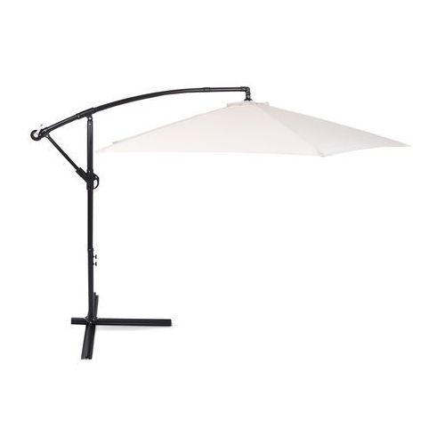 Parasol ogrodowy Malabo Black / Ecru 300 cm z podstawą (5902425322840)