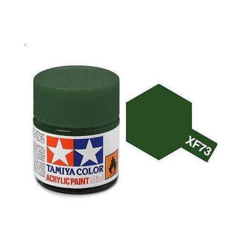 Tamiya Farba akrylowa - xf73 dark green (jgsdf) matt / 10ml 81773 (45035999)