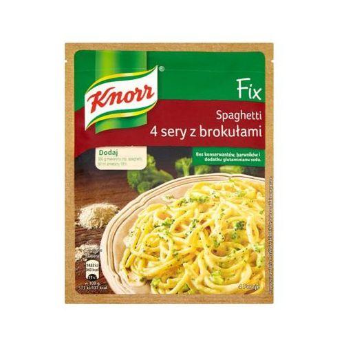 Knorr 43g fix spaghetti 4 sery z brokułami