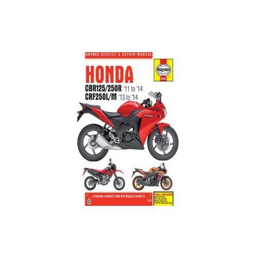 Honda CBR125R, CBR250R & CRF250L/M (2011 - 2014) (9780857339195)