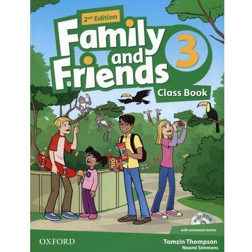 Family And Friends 3 Second Edition. Podręcznik + MultiROM, Oxford University Press