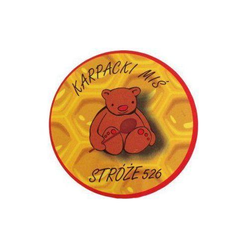 Miód rzepakowy 400g skrystalizowany krupiec marki Karpacki miś