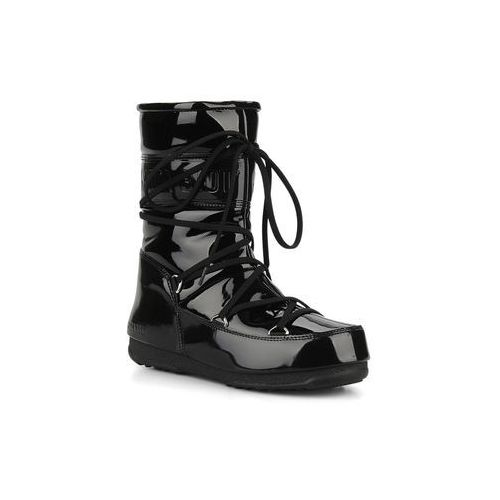 Promocja -50% : Półbuty i botki  Puddle jumper mid Damskie Czarne, Moon Boot