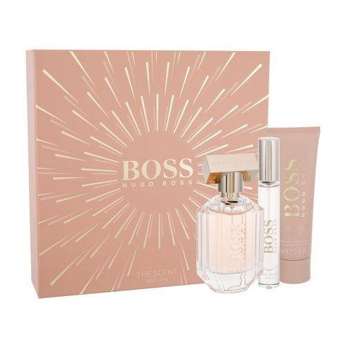 boss the scent for her zestaw edp 50ml 7,4ml edp + 50ml balsam dla kobiet marki Hugo boss