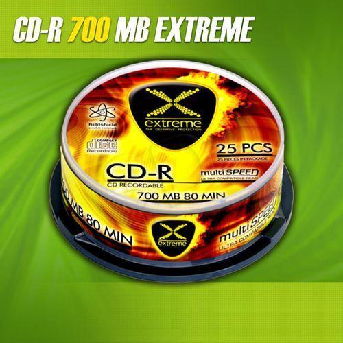 CD-R Extreme 700MB/80MIN 52xSpeed (Szpindel 100szt) - oferta (85ce692235f5321c)