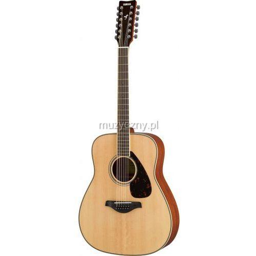 fg 820 12 nt gitara akustyczna 12-strunowa, kolor natural marki Yamaha