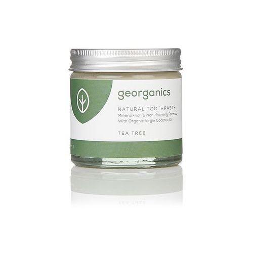 , mineralna pasta do zębów tea tree, 60ml marki Georganics