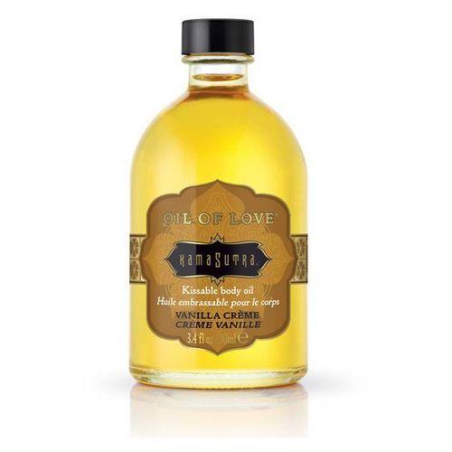 Kamasutra Jadalny rozgrzewający olejek do ciała - kama sutra oil of love waniliowy