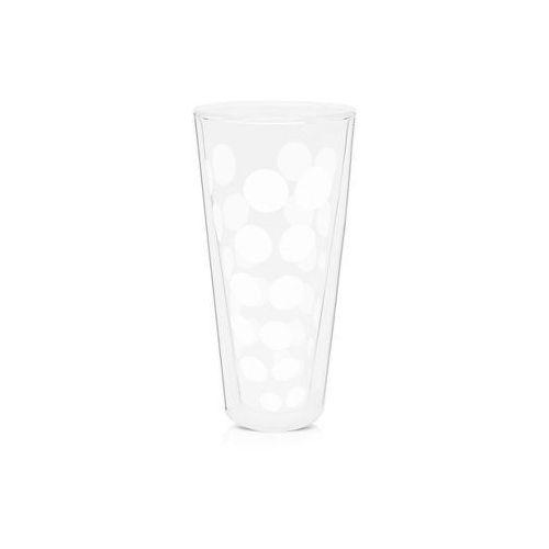 Zak!designs Zak! - szklanka wysoka 350 ml, biała 1358-n310