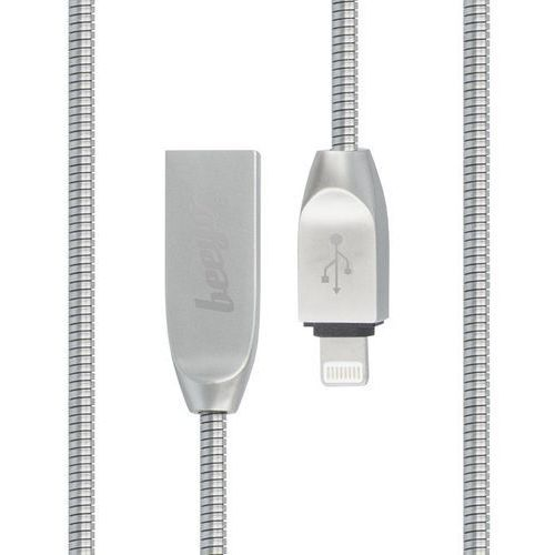 Kabel Beeyo Zinc USB iPhone lightning srebrny, GSM024921