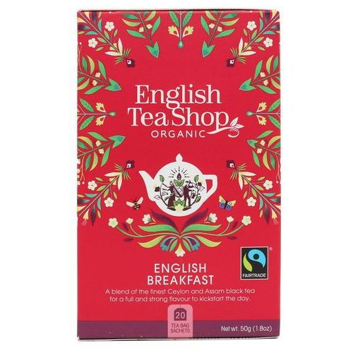 Herbata english breakfast 20x2,5g bio 50 g p marki English tea sho