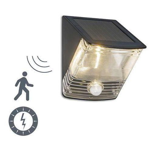 Lampa zewnętrzna Dark LED na energię słoneczną z czujnikiem ruchu - produkt dostępny w lampyiswiatlo.pl