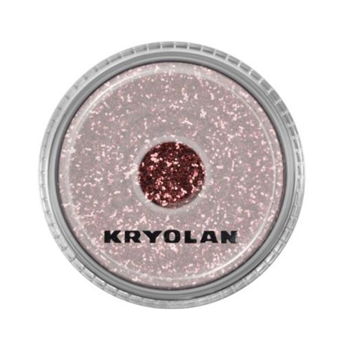 polyester glimmer medium (rose) średniej grubości sypki brokat - rose (2901) marki Kryolan