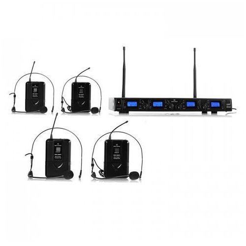 Zestaw mikrofonów bezprzewodowych Malone UKF-550-2 Quartett2