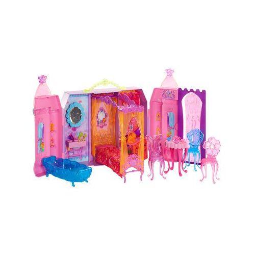 MATTEL Barbie i tajemnicze drzwi - Zamek zestaw do zabawy (domek dla lalek) od pinkorblue.pl