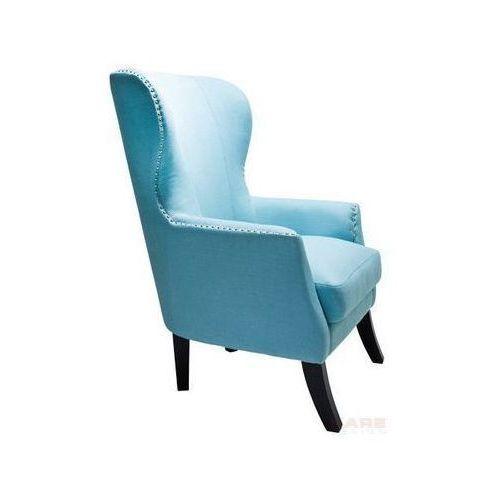 Vegas Fotel Niebieski Tkanina 112x79x88cm - 76340, marki Kare Design do zakupu w sfmeble.pl