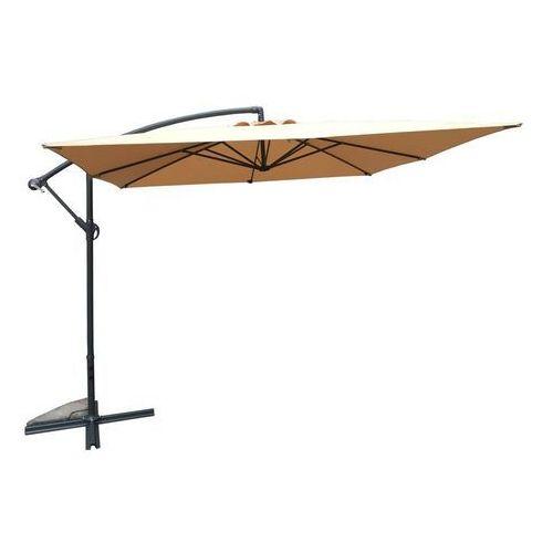 Rojaplast Parasol ogrodowy 8080 (270x270cm) beżowy
