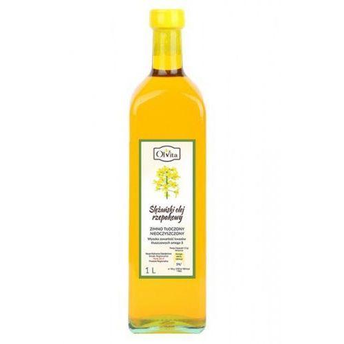Olej rzepakowy extra zimnotłoczony 1000ml marki Olvita