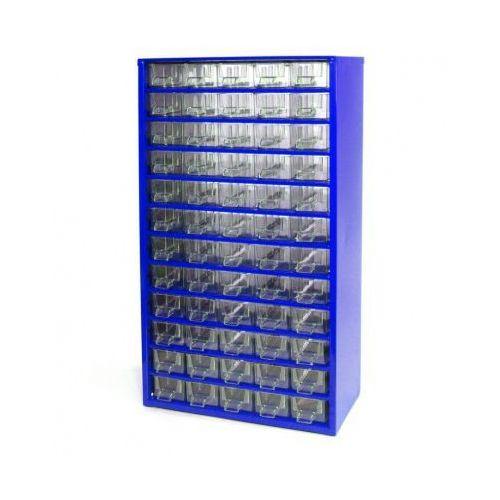 Metalowe szafki z szufladami, 60 szuflad (8595004167504)