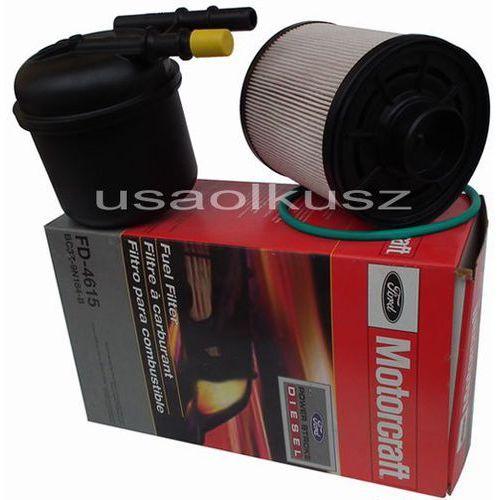 Oryginalne filtry paliwa silnika ford f150 - 550 6,7 td marki Motorcraft