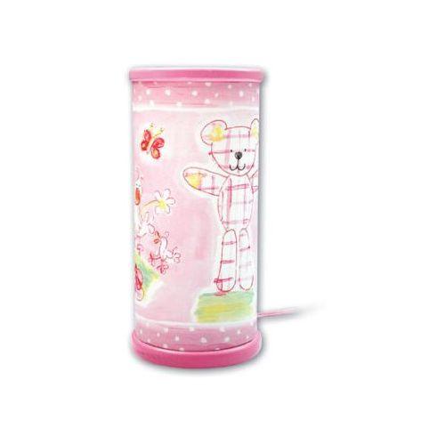 WALDI Lampka na biurko DG Teddy inkl. świeczka LED, marki Waldi do zakupu w pinkorblue.pl