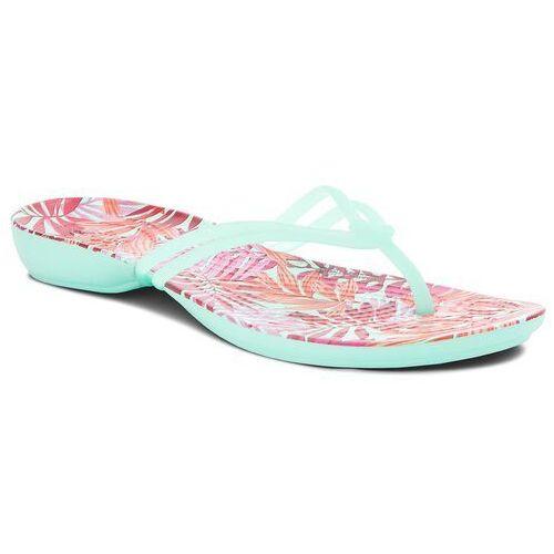 Japonki - isabella graphic flip w 204196 new mint/tropical marki Crocs