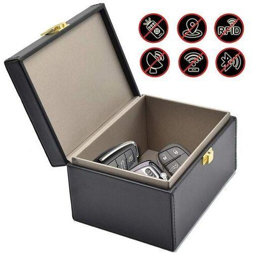 Pudełko antykradzieżowe na kluczyki samochodowe