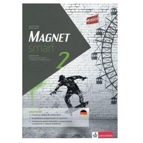 Magnet smart 2 Smartbook + DVD Rozszerzony zeszyt ćwiczeń z interaktywnym pakietem ucznia