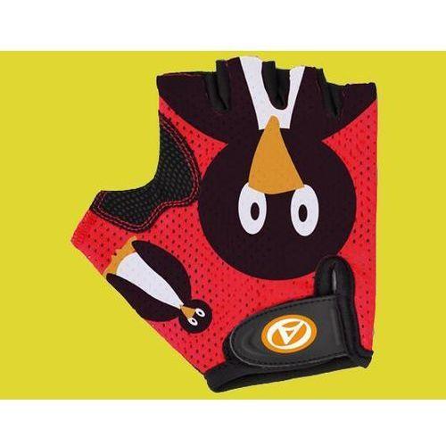 Rękawiczki dziecięce Author Junior Pinguin czerwone S (8590816016309)
