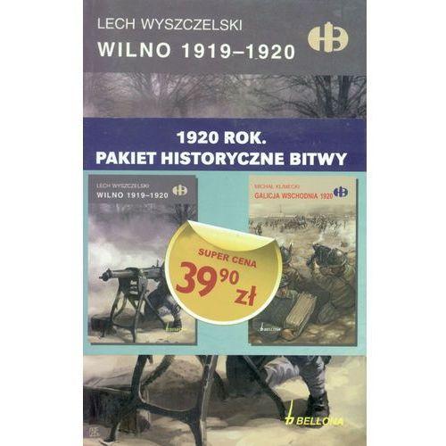 Pakiet. Historyczne bitwy 1920 rok. Wilno 1919-1920, Galicja wschodnia 1920 (2013)