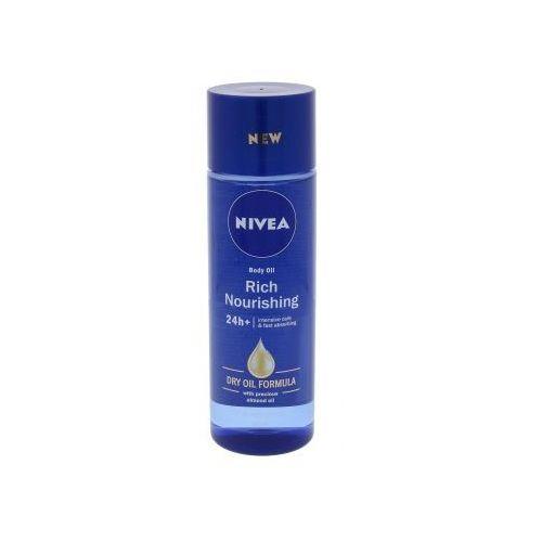 Nivea body oil rich nourishing olejek do ciała 200 ml dla kobiet