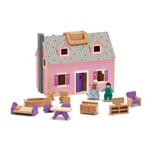 Mobilny przenośny Domek dla lalek 13701 Melissa and Doug (domek dla lalek) od wonder-toy.com