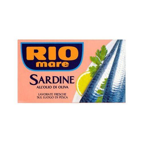 120g sardynki w oliwie z oliwek marki Rio mare