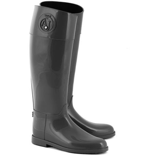 Stivali Pioggia - Szare Gumowe Kalosze Damskie - Z5590 2M (kalosz damski) od MIVO Shoes Shop On-line