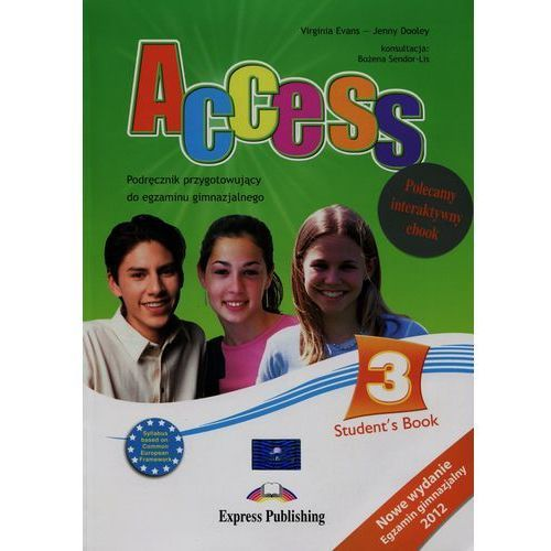 ACCESS CZ.3 SB +IE BOOK Express Publishing + zakładka do książki GRATIS, Express Publishing