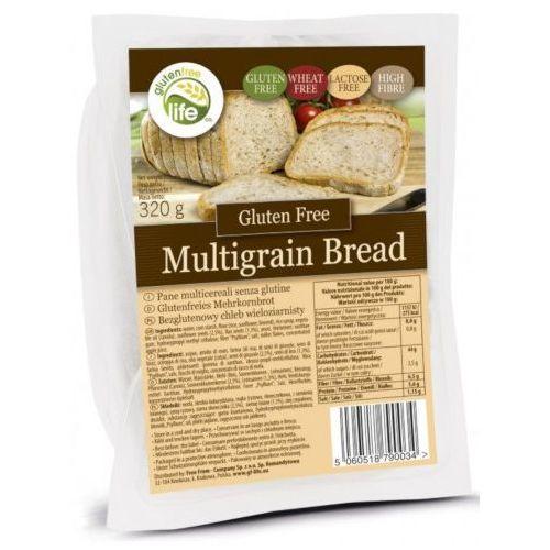 Bezgluten Chleb wieloziarnisty owy 320g, bez laktozy, źródło błonnika