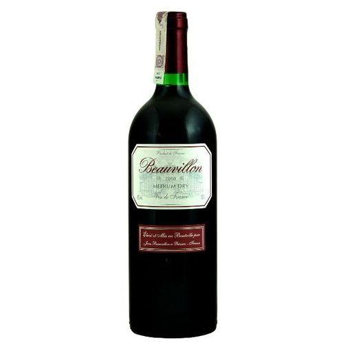 BEAUVILLON 1l Wino francuskie czerwone półwytrawne | DARMOWA DOSTAWA OD 150 ZŁ!