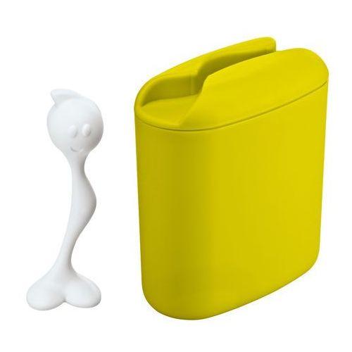 Pojemnik HOT STUFF z miarką - kolor limonkowy, 500 g, KOZIOL