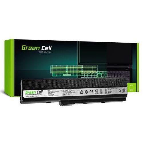 Bateria do notebooka asus a32-k52 11.1v 4400mah marki Green cell
