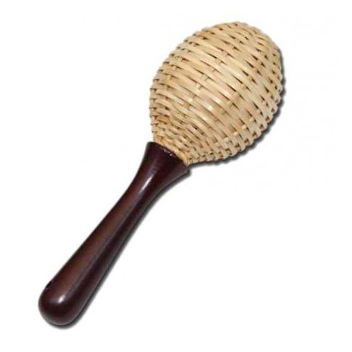 Corvus Rattlesnake 600261 Marakasy wiklinowe instrument perkusyjny