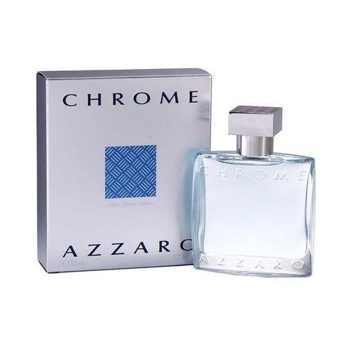 - chrome after shave aft 50 ml dla panów marki Azzaro