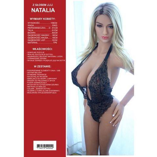 Realistyczna mówiąca sex lalka tpe kobieta jak prawdziwa - natalia 158cm