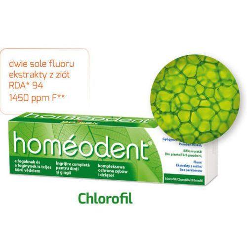 Homeodent kompleksowa ochrona zębów i dziąseł pasta chlorofilowa 75ml marki Boiron