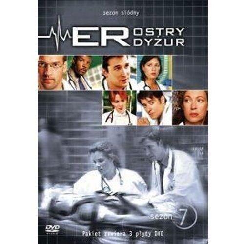 Ostry dyżur (sezon 7, 3 DVD) (Płyta DVD) (7321909814394)